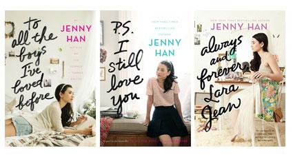 Lara Jean trilogy by Jenny Han
