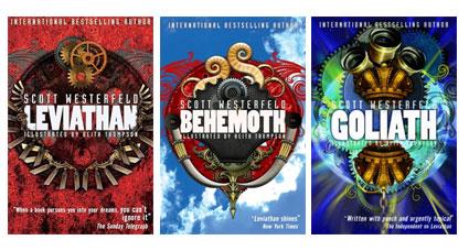 Leviathan, Behemoth, and Goliath by Scott Westerfeld