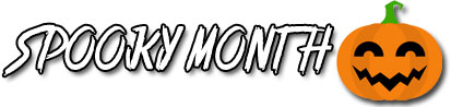 A clickable banner that reads 'SPOOKY MONTH'